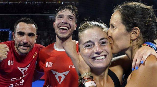 Llima-Tàpia i Triay-Salazar, campions del Cerveses Victoria Màlaga Open