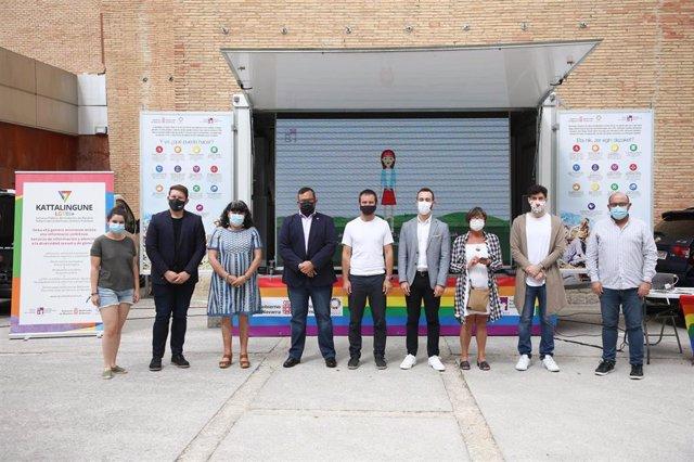 Presentación del programa 'Siembra diversidad, recoge libertad' en Estella
