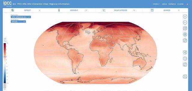Archivo - Imagen del sexto Informe del IPCC