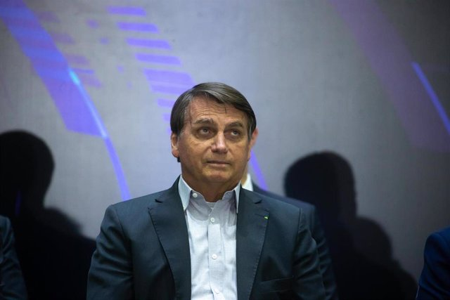 Archivo - El presidente brasileño, Jair Bolsonaro.