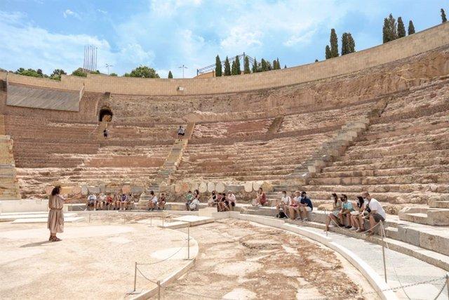 Visitas y rutas teatralizadas en el Museo Romano de Cartagena