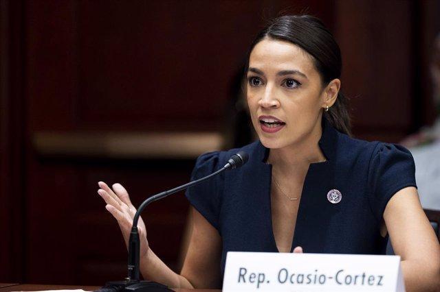 La representante demócrata Alexandria Ocasio-Cortez.