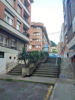 Escalera calle Concepción.