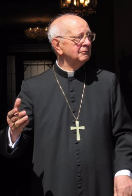 El cardenal Eduardo Martínez Somalo