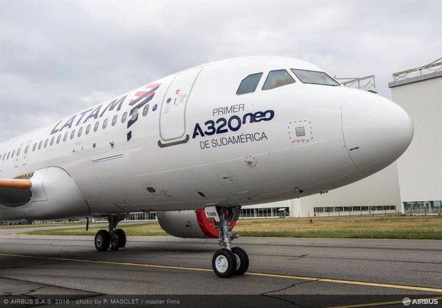 Estados Unidos.- Grupo LATAM moderniza su flota tras acuerdo de compra de aviones de la familia A320neo
