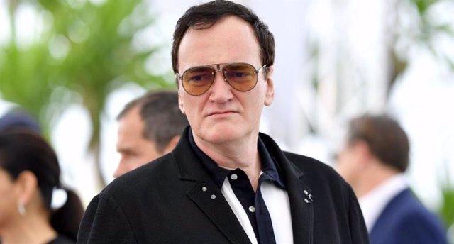 Quentin Tarantino durante la 72ª edición del Festival de Cine de Cannes