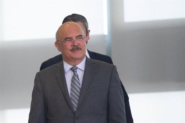 Archivo - El ministro de Educación de Brasil, Milton Ribeiro.