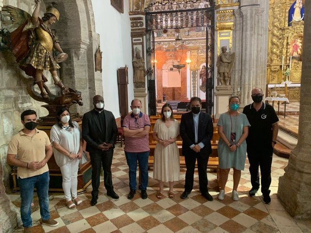 Visita a la iglesia del Soterraño de Aguilar de la Frontera.