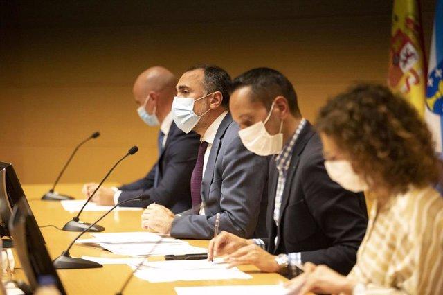 Rueda de prensa posterior a la reunión del comité clínico que asesora a la Xunta en la pandemia de Covid-19.