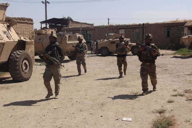 Despliegue de las fuerzas especiales afganas en Kunduz