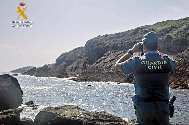 La Guardia Civil vigila la costa de Cantabria