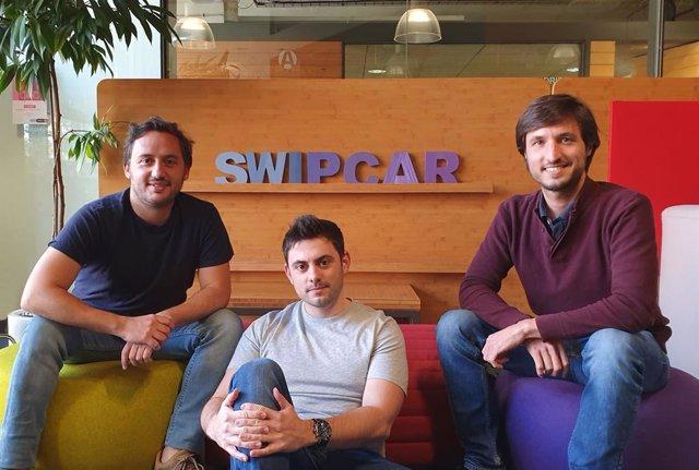 De Izquierda A Derecha, Julio Ribes, Pablo Pascual Y Blas Gil, Fundadores De Swipcar.