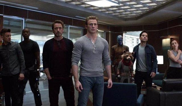 Escena de 'Vengadores: Endgame'