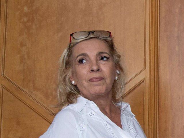 Carmen Borrego en una imagen de archivo de Europa Press.