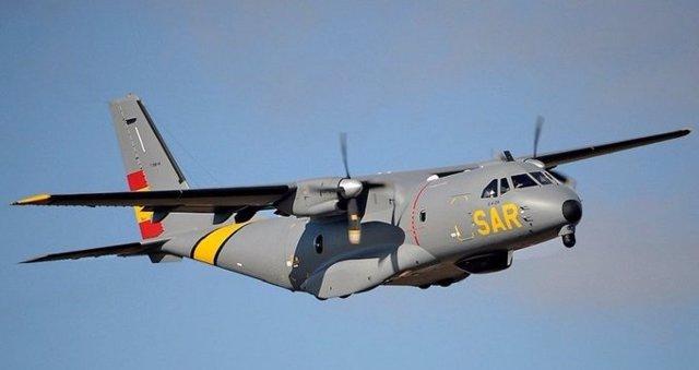 Archivo - Avión SAR Rescue.