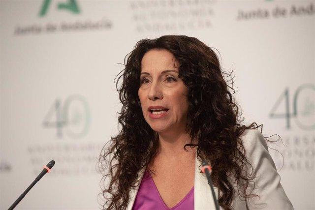 La consejera de Igualdad y Políticas Sociales, Rocío Ruiz.