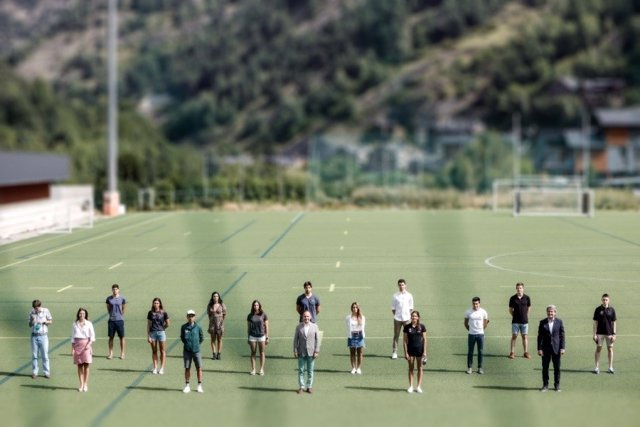 Recepción del Govern de Andorra a deportistas