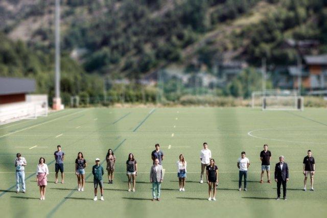 Recepció del Govern d'Andorra a esportistes