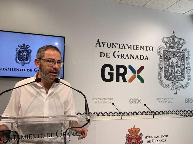 El edil de Urbanismo de Granada, Miguel Ángel Fernández Madrid