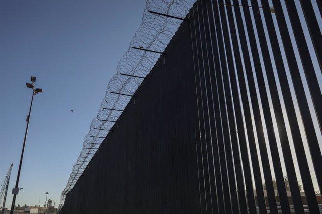 Archivo - Frontera entre México y Estados Unidos