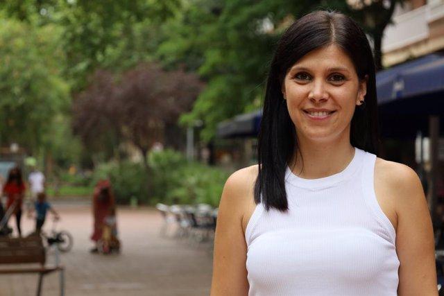La secretària general adjunta i portaveu d'ERC, Marta Vilalta, en una entrevista d'Europa Press.