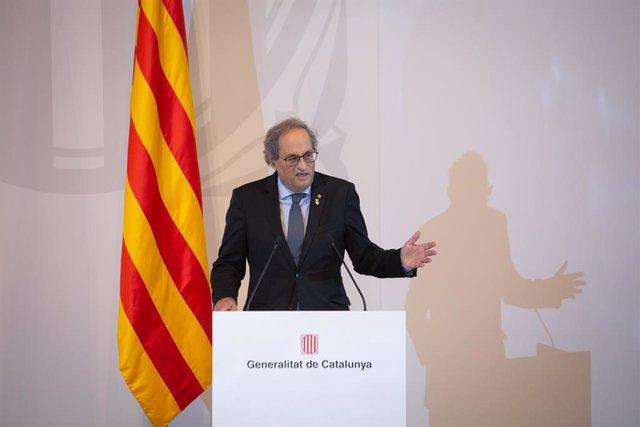 Archivo - Arxivo - L'expresident de la Generalitat, Quim Torra, en una imatge d'arxiu.
