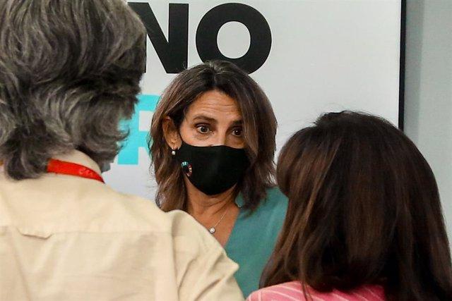 La vicepresidenta tercera i ministra per a la Transició Ecològica i el Repte Demogràfic, Teresa Ribera.