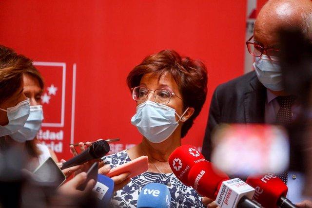 La directora general de Salud Pública de la Comunidad de Madrid, Elena Andradas