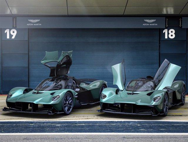 Archivo - Aston Martin Valkyrie Spider.