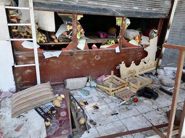Local saqueado en Ankara por turbas contra inmigrantes sirios