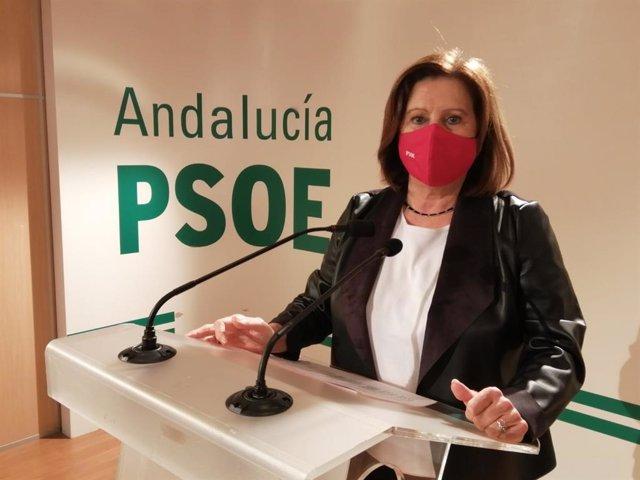 Archivo - La parlamentaria andaluza del PSOE María José Sánchez Rubio, en imagen de archivo