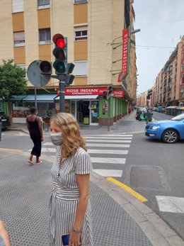 La concejal del Grupo Municipal Popular del Ayuntamiento de Valencia Julia Climent