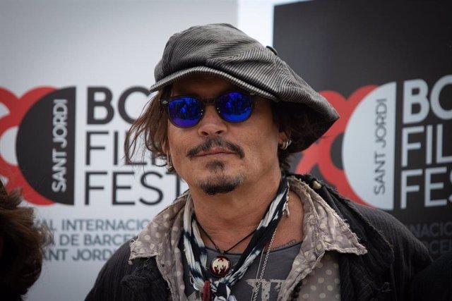 Archivo - El actor Johnny Depp