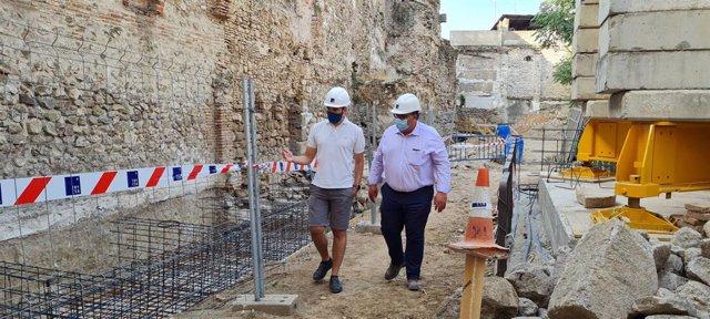 Inicio de la recuperación de la muralla de El Salvador