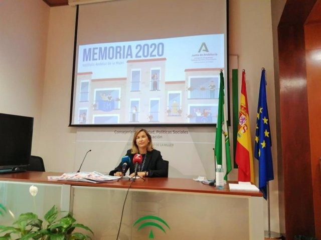Archivo - Celia Mañueco, asesora de programa del Instituto Andaluz de la Mujer (IAM) en Cádiz
