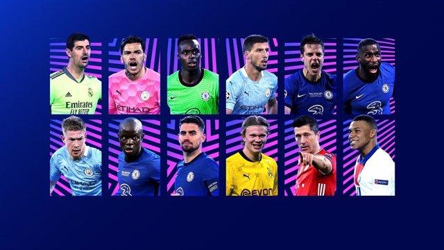 Candidatos a los Premios por posición de la Liga de Campeones