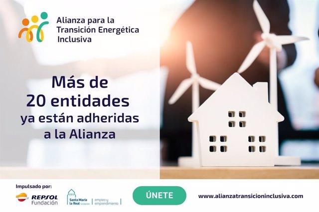 Entidades adheridas a la Alianza para la Transición Energética Inclusiva