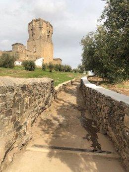 Archivo - El castillo de Belalcázar.