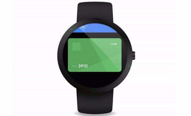 App Google Pay para WearOS