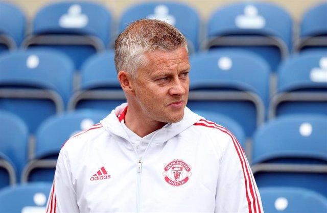 Ole-Gunnar Solskjaer, entrenador del Manchester United