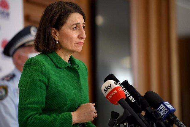 La ministra de Nueva Gales del Sur,  Gladys Berejiklian