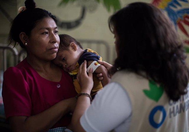Archivo - ACH durante la pandemia de coronavirus en Guatemala