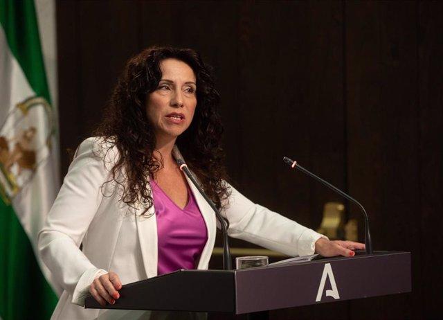 La consejera de Igualdad y Políticas Sociales, Rocío Ruiz, ,en una imagen de archivo.