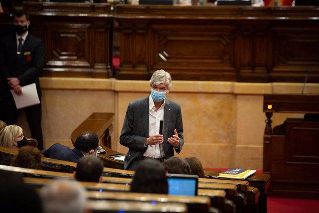 El conseller de Salut de la Generalitat, Josep Maria Argimon