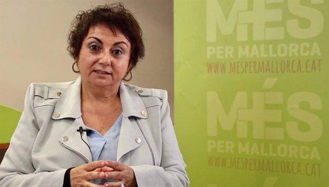 La diputada de MÉS per Mallorca Joana Aina Campomar.