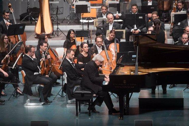 El pianista bilbaíno Joaquín Achúcarro actuará con la Orquesta Sinfónica de la Región de Murcia el 1 de octubre
