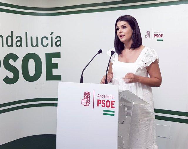 Noemí Cruz, parlamentaria autonómica por el PSOE de Almería