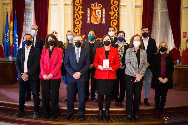 Nuevo gobierno de Melilla tras las modificaciones realizadas.