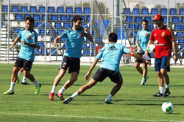 La selección de España Sub21 de fútbol ha utilizado en más de una ocasión las instalaciones deportivas de la Región para sus entrenamientos