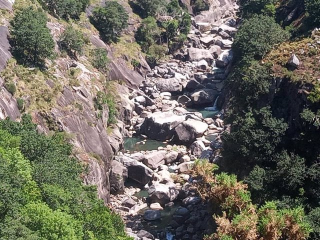 Río Eume, seco